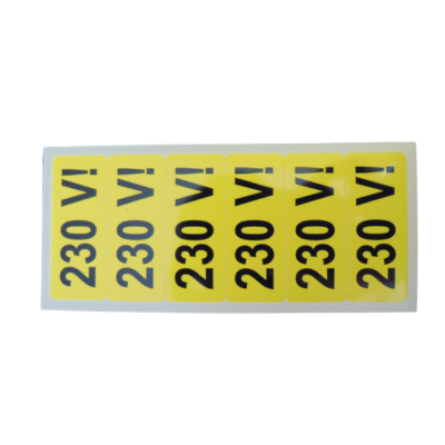 230 V matrica 20x50mm