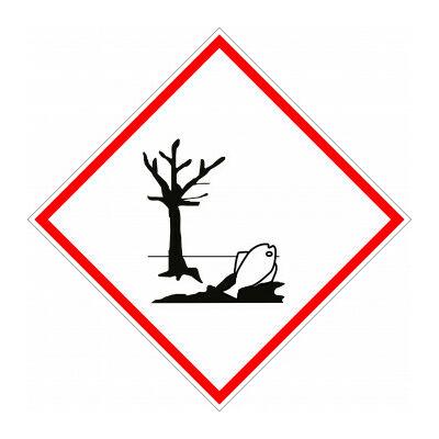 Környezetre veszélyes matrica 100x100mm
