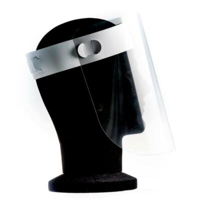Víztiszta arcvédő- 300 micron