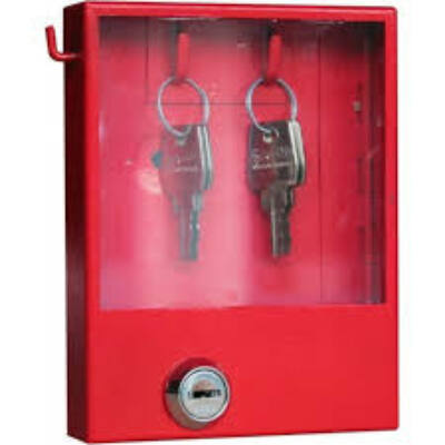 Kulcsdoboz vészkijárathoz