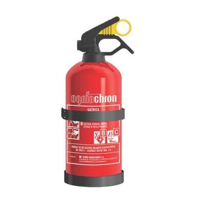 1 kg-os porral oltó BC tűzoltó készülék
