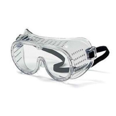 Víztiszta rugalmas védőszemüveg