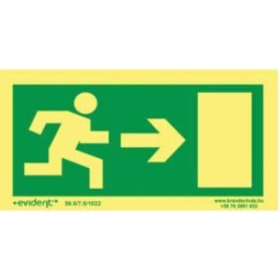 Menekülési irány jobbra