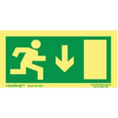 Menekülési irány le