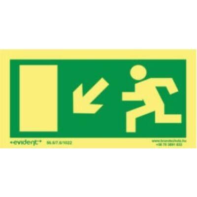 Menekülési irány balra le