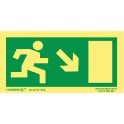 Menekülési irány  jobbra le