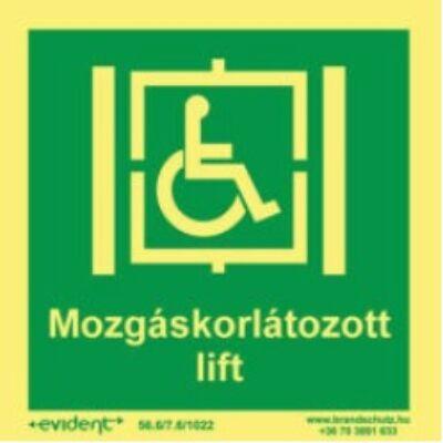 Mozgáskorlátozott lift